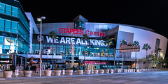 Staples Center (RoTTeN aPPLe WaYFaReR) Tags: nikon d750 sigma art lens night staples center basketball hockey la kings clippers lakers los angeles california downtown 35mmf14dghsm|a