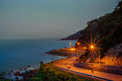 """ Scenic Route "" (suwaparnjaruchaisittikul) Tags: road route scenic sunrise night roadtrip dream destination chanthaburi thailand nature"