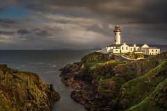Fanad Head Lighthouse (burgootim) Tags: lighthouse donegal irelandnovember seascape sea headland sky sony