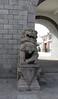 happy (helena.e) Tags: helenae summer sommar vacation semester ålga husbil motorhome dragongate kina china kion lejon statue staty