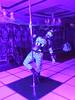 Pole Dancing Pony 1 (AgentDrow) Tags: poledance poledancing ponyplay zentai corset ponygear bdsm