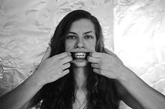 isolation (https://aprilwinter.com) Tags: film 35mm blackandwhite bw selfportrait nikon nikonfm2 fm2 carlzeiss ilford xp2 insanity lonely longhair