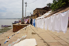Drying clothes on riverbank in Varanasi, India (phuong.sg@gmail.com) Tags: adornment asia asiatic batching bathing bazaar benares caste children clothes colorful culture dry ethnic ganga ganges ghat gossip hindu hinduism holi india indian journey man national nationality pashmina people pilgrim pilgrimage pradesh religion river sacred sari swarthy tradition traditional travel uttar varanasi washing