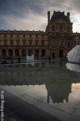 Reflections of the Louvre (The Aquanaught) Tags: autumn museedulouvre family paris season location people place suzi ledefrance france fr