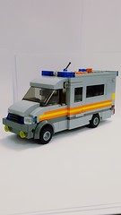 Metropolitan Police, Public Order Van. Mercedes Sprinter. (PUCI2) Tags: lego british police sprinter metropolitian london