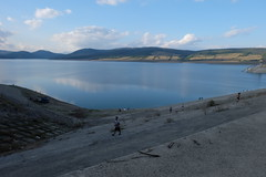 A final shot of the Sioni Lake before the long haul back to Tbilisi (oldandsolo) Tags: georgia formerrussianterritory kakhetiregion sionilake sioniwaterreservoir touristspot freshwaterlake watersupply shore daytrippers picnicspot