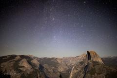Stars Over Half Dome (priscellie) Tags: yosemite nationalpark california landscape astrophotography halfdome yosemitenationalpark