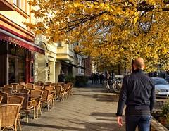 Berlin, Oranienburger Strasse (berlinka_lg) Tags: berlin germany city citylife autumn deutschland alexanderplatz transport people streets streetsphotography