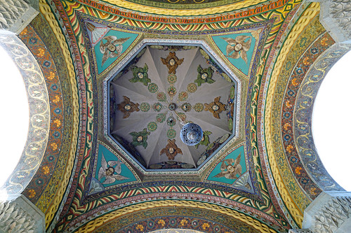 Vault of the entrance gate to Etchmiadzin Cathedral