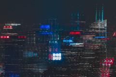 DSC_0720 (tausigmanova) Tags: panorama pano nikon d3300 manhattan new york city nyc urban skyline night nightphotoraphy world trade wtc freedomtower freedom tower oneworldobservatory longexposure
