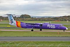 G-JEDR DHC-8Q 402 Flybe MAN 05-11-16 (PlanecrazyUK) Tags: egcc manchester man ringway manchesterairport gjedr dhc8q402 flybe 051116