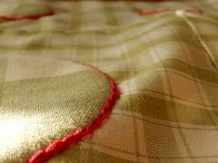 Different squares (Landanna) Tags: handmade handgemaakt applique broderi borduren embroidery chainstitch