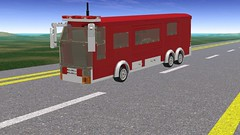 Road N Rig (cruzen19501) Tags: lego fd mobile command post
