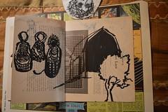 farmland (Danny W. Mansmith) Tags: workinprogress artistbook drawings dannymansmith improvisational quick gestural time hope art