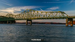 Browns Bridge (The Suss-Man (Mike)) Tags: autumn bridge brownsbridge fall forsythcounty gainesville georgia hallcounty lake lakelanier lanier nature sonya550 sunset sussmanimaging thesussman water
