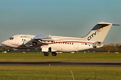 EI-RJY 01 (GH@BHD) Tags: eirjy avro britishaerospace bae bae146 146200 rj rj85 wx bcy cityjet dub eidw dublinairport dublininternationalairport dublin regionaljet airliner aircraft aviation