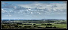 wind power farm along Victorian Coastline Australia (tsmpaul) Tags: windpower windmill greenpower greenenergy victoria australia clouds sky panorama walkerville leongatha cape liptrap