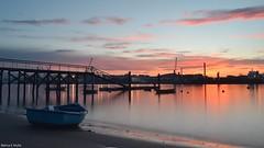 San Balandrn (blancaelena_muizmartinez) Tags: barco embarcadero espaa sunset atardecer playa beach
