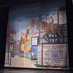 Burlington City Hall: Contois Auditorium  historic theater curtain (origamidon) Tags: usa burlington advertising square vermont painted historic canvas backdrop sq vt joanofarc 05401 greenmountainstate theatercurtains burlingtoncityhall chittendencounty origamidon donshall burlingtonvermontusa historictheatercurtains contoisauditorium