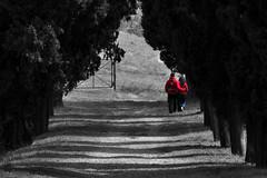 Red is the colour of Love. (itsOriana_) Tags: love lovers bologna rosso amore coppia pasquetta ronzano eremo innamorati