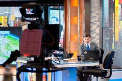 Good Morning America with Ridiculously Photogenic Guy-2 (King_of_Games) Tags: camera set laptop rpg thinkpad backstage behindthescenes gma goodmorningamerica georgestephanopoulos willking willbking ridiculouslyphotogenicguy watkinslittle zeddielittle