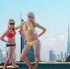 giant danielle and jordi (joe.pat56) Tags: hot sexy breasts butt growth teen teenager aviary giantess