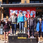 Panorama Miele Cup Spring Series Overall Podium & Most Improved GS Day 1 - 1. Tess Davies; 2. Sarah Freeman; 3. Jocelyn Volk; PHOTO CREDIT: Gregor Druzina