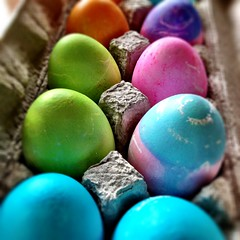 Untitled (urbanworkbench) Tags: colors easter paint colours crafts craft eggs eggcarton eastereggs