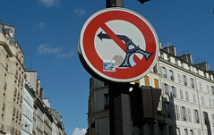 No left turn? (In my hands they crumble) Tags: paris france sign june funny eiffeltower humour toureiffel roadsign 9th 2012 noleftturn noturning