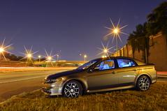 Letting the world go by (vrvillalba) Tags: light urban car highway wheels rims acura villalba lighttrail d7000