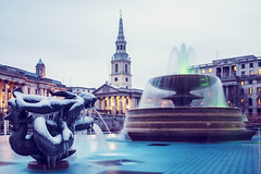 St Martin In The Fields (EricP2x) Tags: city uk longexposure winter london tower church westminster skyline architecture publicspace buildings evening europe nightlights capital trafalgarsquare grand landmark nationalgallery explore citylights londres georgian canon5d wren bluehour fountains baroque iconic citysquare icicles comments touristattraction townsquare londinium slowshutterspeed stmartininthefields urbanphotography churchspire onexplore canon28135mm urbanity londonatnight jamesgibbs canonef28135mmf3556isusm londonsnow explored londoninwinter londonwinter londonphotography grandbuildings onexplored bluehourphotography londonexplored ericp2xmarchportfolio