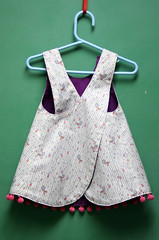Isabel's Pinafore Back (Mle BB) Tags: house girl kid clothing child dress blossoms peeps pinafore lizzy 1001 bloomers blossomsandbloomers