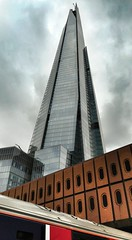 Shard Angles from London Bridge Station (welshjab) Tags: cloud london silver londonbridge grey angles shard