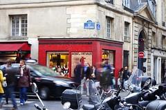 boucherie chevaline (dominique Bernardini) Tags: horse paris socks shop butcher marais