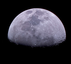 Luna (c@rljones) Tags: moon cold space satellite luna craters lunar distant skywatcher200pds