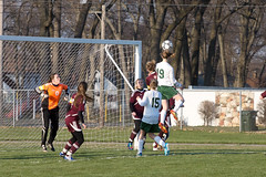 Header (randyr photography) Tags: girls game soccer sony varsity header alpha sal70200g slta77v