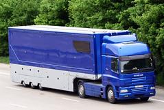 DAF CF Y657 FJN Prodrive (gylesnikki) Tags: blue truck artic prodrive motosport