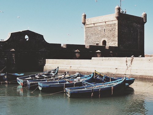 The Harbour of Essaouira