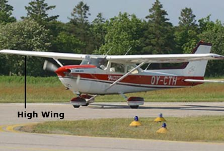 Photo - Plane Type: High Wing