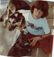 """Steve and his first two dogs Charlie and Snoopy • <a style=""""font-size:0.8em;"""" href=""""http://www.flickr.com/photos/95808399@N03/8985103402/"""" target=""""_blank"""">View on Flickr</a>"""