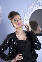 My Elegant Beauty (PHOTO  BOOTH) Tags: pink lebanon eye art girl beautiful beauty glitter angel photography photo model nikon women nail makeup style lips arabic arab lipstick kuwait elegant eyeshadow hairstyle photosession q8