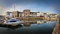 Still Waters (jamiegaquinn) Tags: reflections nicole harbour plymouth barbican devon stillwaters theship suttonharbour