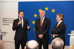 Croatia's Accession to the European Union at the EU Delegation HQ in Washington, DC.