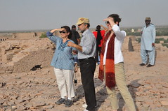 CG Fite at Derawar Fort, Bahawalpur (USCGLahore) Tags: fort punjab bahawalpur derawar consulgeneral southernpunjab