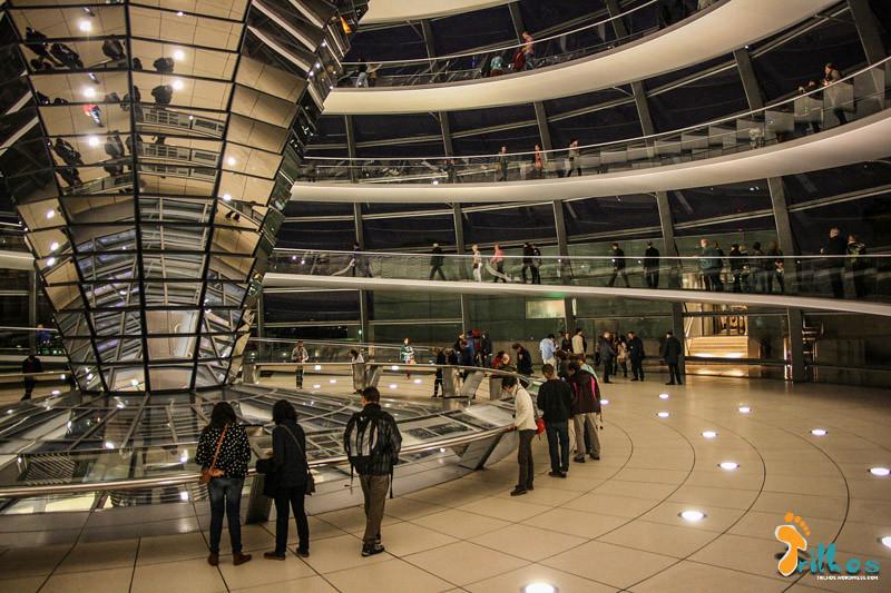 cúpula do Bundestag