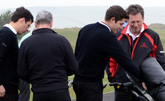 003 - Final check with Captain Jonathan Behennah and Vice Andrew Corfield (Neville Wootton Photography) Tags: golf alexglover stmelliongolfclub jonathanbehennah martynhunkin stenodocgolfclub mensgolfsection andrewcorfield ctcplate