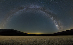 Clarks Dry Lake Bed - Panorama (It was the light, it was the angle) Tags: california ca longexposure panorama nature night photoshop canon stars landscape desert pano playa panoramic astro lakebed astrophotography planets photomerge anzaborrego crusty milkyway drylake shootingstar perseids vialactea lavalctea ineeddadrink 72913 1635mm28 jeffmorris itwasthelight 5d3 240degrees clarksdrylakebed