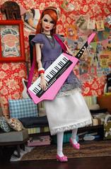 Erin (dollinterrupted) Tags: fashion high doll erin end envy diorama