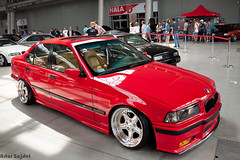 DUB IT! 2013 in Kielce BMW E36 (art frytek) Tags: red cars nikon bmw carshow motorshow 18105 e36 tuningshow d90 f3556 zlotsamochodowy