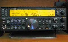 The King of the Shack Has Returned (Daryll90ca) Tags: ham kenwood hamradio amateurradio ts590